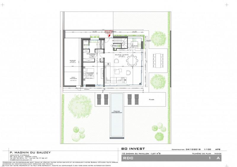Deluxe sale house / villa Caluire et cuire 945000€ - Picture 3