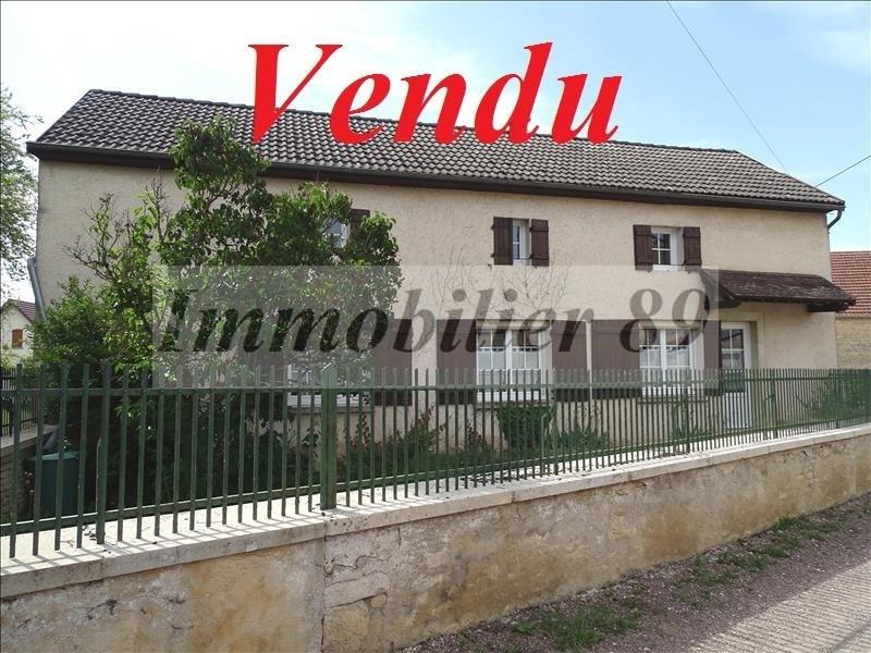 Sale house / villa Axe chatillon - montbard 128500€ - Picture 1