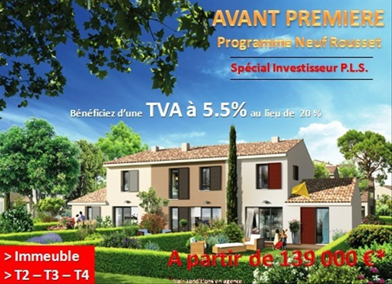 Investment property apartment Rousset 175 000€ - Picture 1