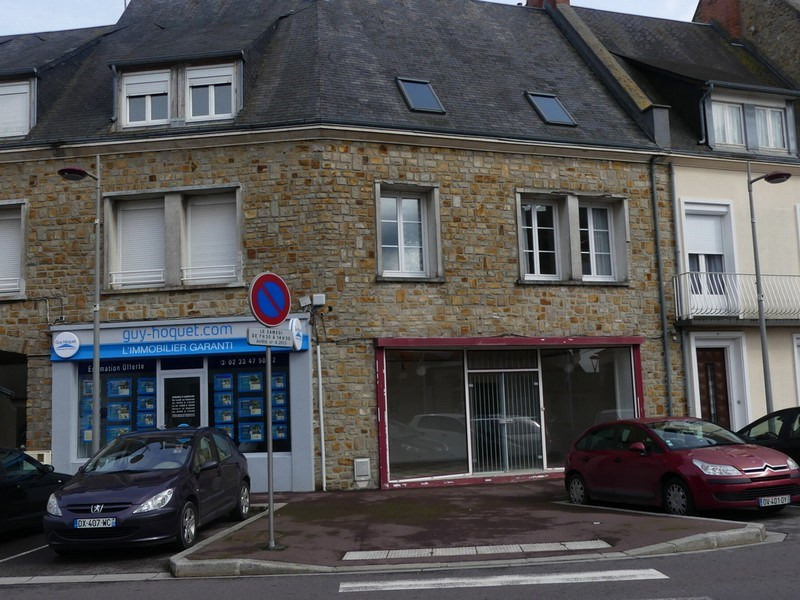 Local commercial + grand appartement en duplex
