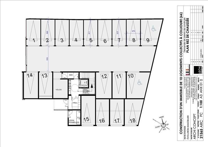 Sale apartment Collioure 231360€ - Picture 14