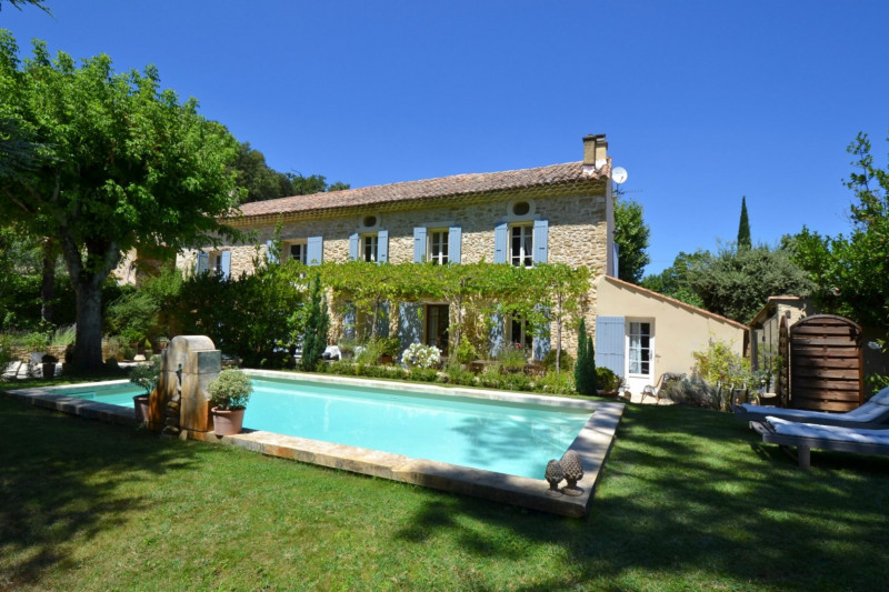 Deluxe sale house / villa Sarrians 675 000€ - Picture 1