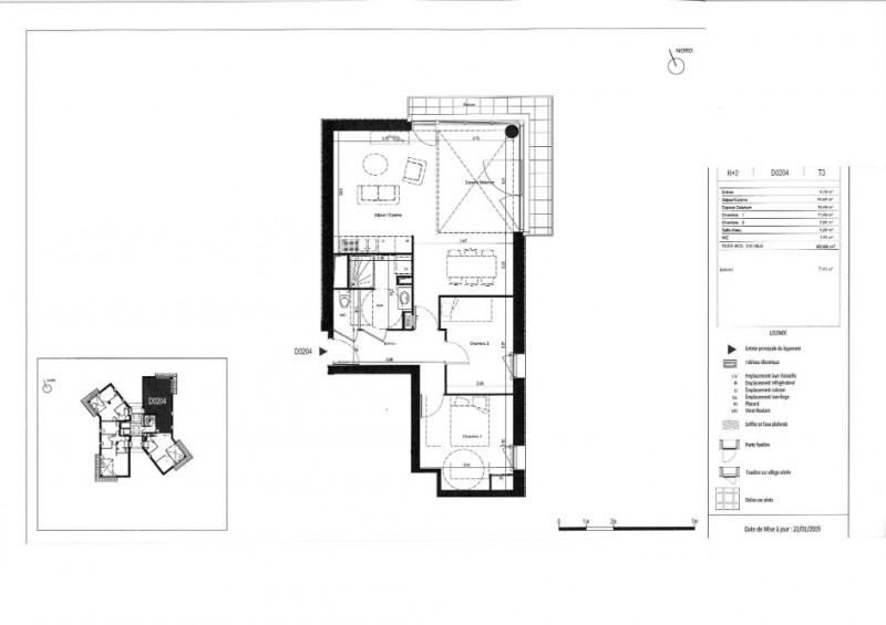 Vente appartement Rennes 218000€ - Photo 6