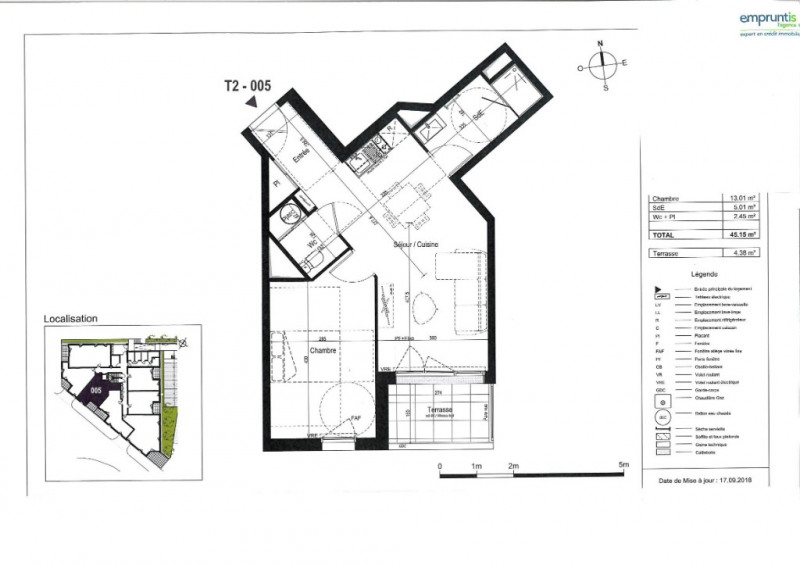 Vente appartement Saint nazaire 168000€ - Photo 3