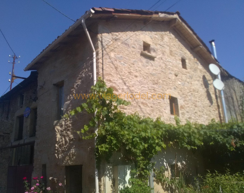 Life annuity house / villa Le riols 33 000€ - Picture 1