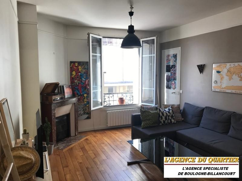 Sale apartment Boulogne billancourt 374 000€ - Picture 1