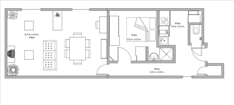 Rental apartment Boulogne billancourt 1350€ CC - Picture 7