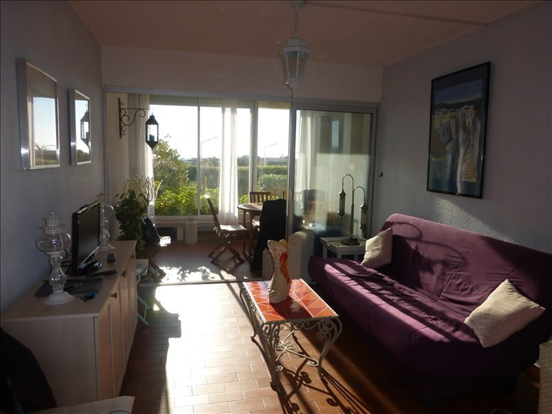 Sale apartment Le barcares 74 000€ - Picture 1