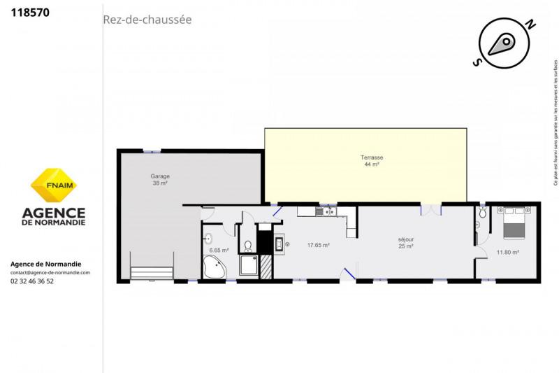 Vente maison / villa Montreuil-l'argillé 118000€ - Photo 4