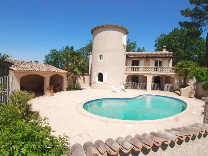 Verkoop van prestige  huis Labeaume 499200€ - Foto 1