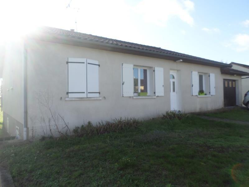 Vente maison / villa Civaux 137000€ - Photo 1