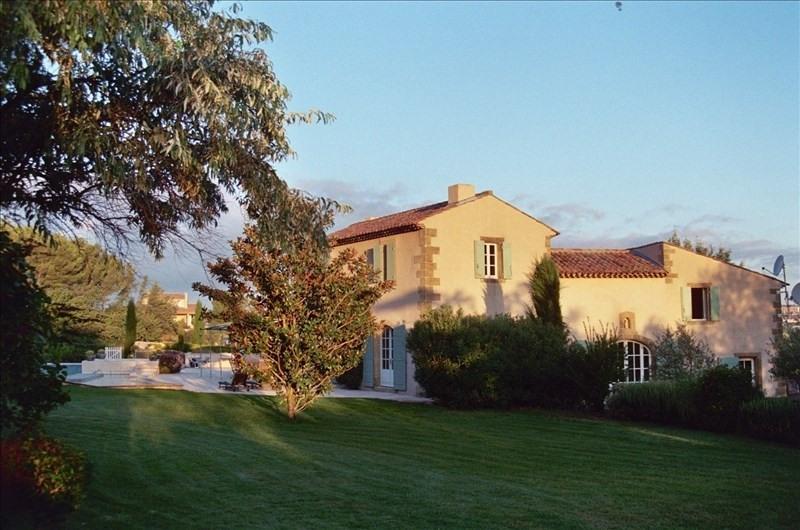 Venta de prestigio  casa Meyreuil 1950000€ - Fotografía 1