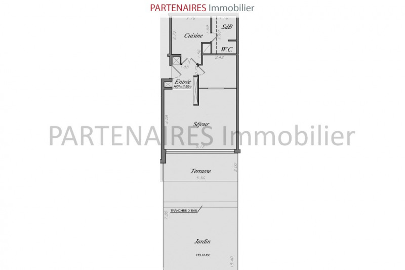 Sale apartment Le chesnay 280000€ - Picture 7