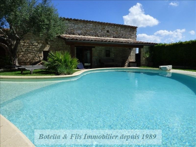 Verkauf von luxusobjekt haus Barjac 489500€ - Fotografie 9
