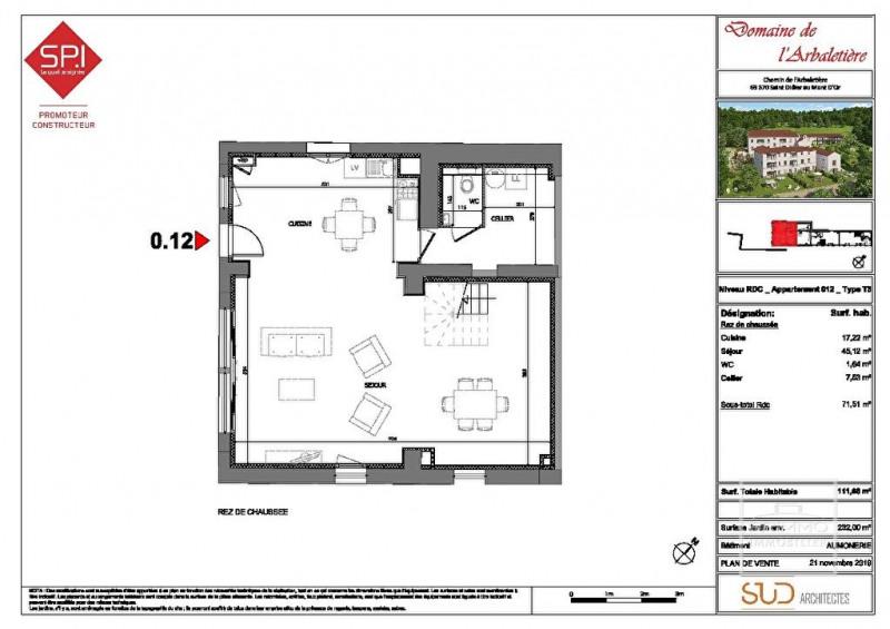 Investment property apartment Saint didier au mont d'or 535000€ - Picture 16