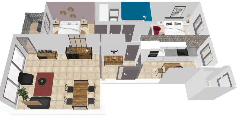Vente appartement Ris orangis 90000€ - Photo 9