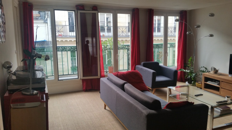 Rental apartment Paris 9ème 2 641€ CC - Picture 2