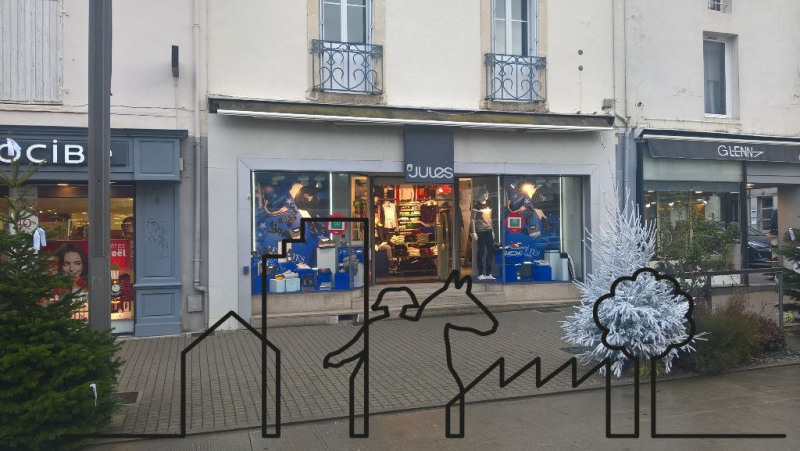 Cession de bail boutique La roche sur yon 45 000€ - Photo 1