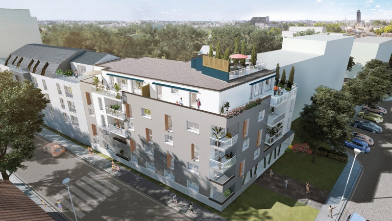 Produit d'investissement appartement Nantes 204000€ - Photo 1