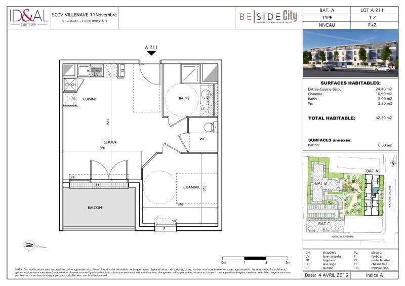 Location appartement Villenave d'ornon 562€ CC - Photo 8