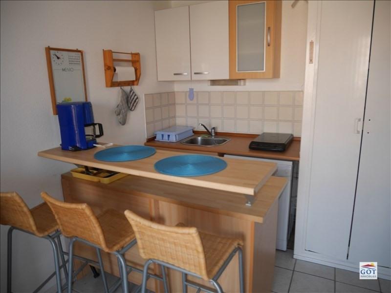 Revenda apartamento Le barcares 70500€ - Fotografia 2