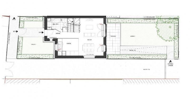 Sale house / villa Houilles 474000€ - Picture 1