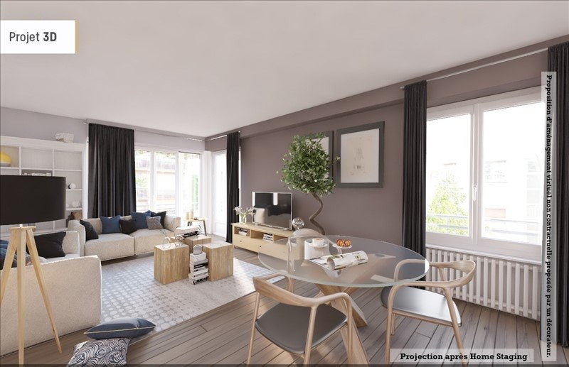 Sale apartment Neuilly sur seine 820000€ - Picture 2