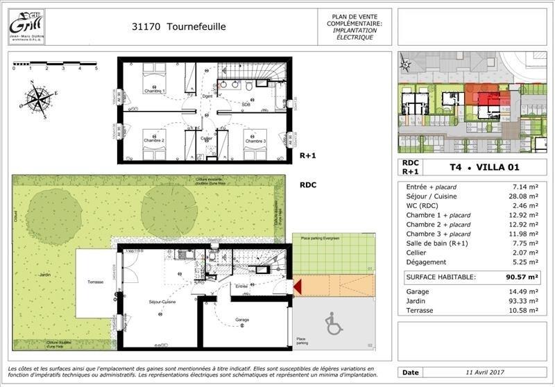 Vente maison / villa Tournefeuille 296500€ - Photo 9
