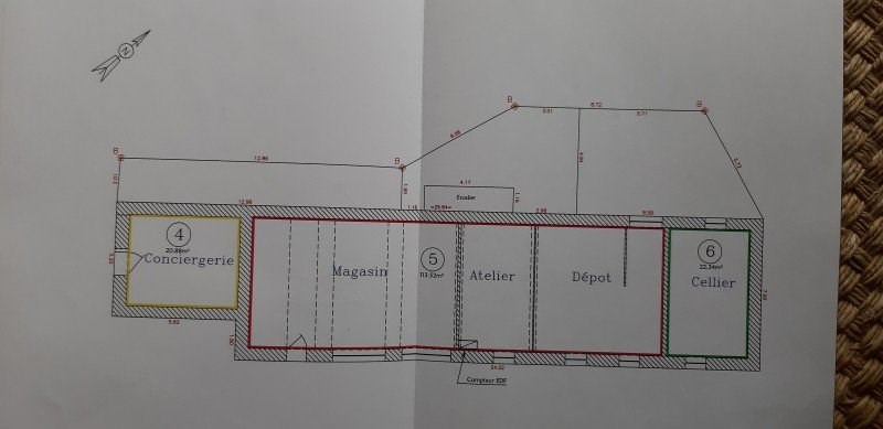 Vente immeuble Souvigny 38000€ - Photo 5