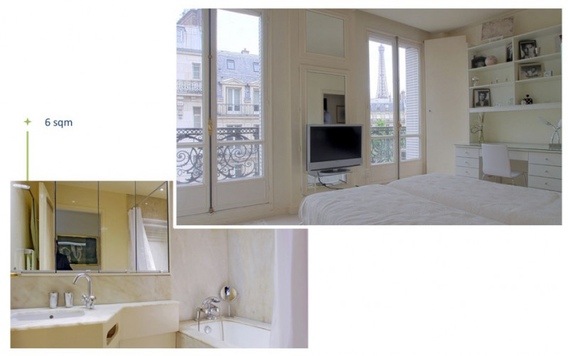 Location appartement Paris 16ème 7 500€ CC - Photo 6