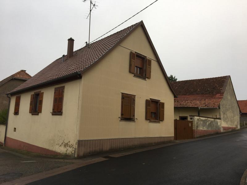 Sale house / villa Reutenbourg 166400€ - Picture 1