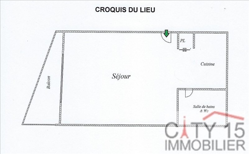 Investment property apartment Montrouge 238 000€ - Picture 2