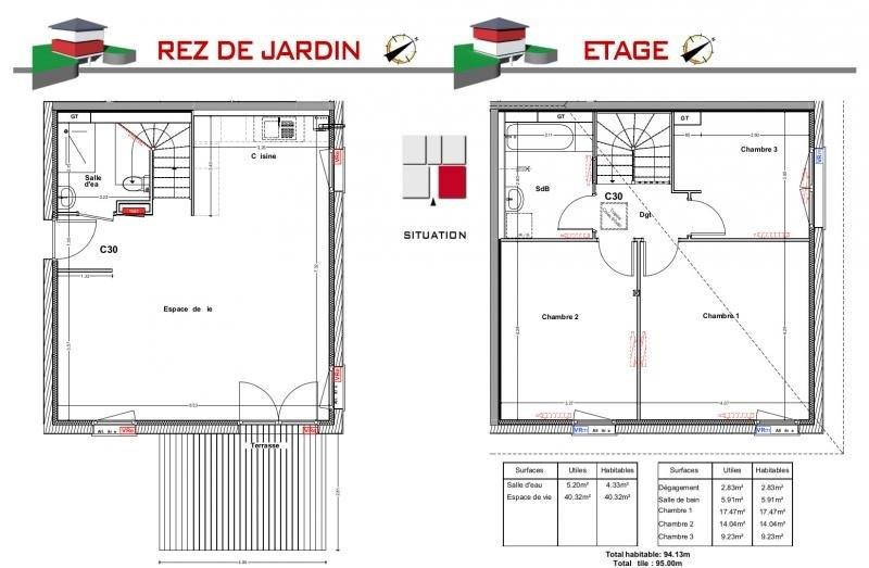 Vente maison / villa Jons 293000€ - Photo 5