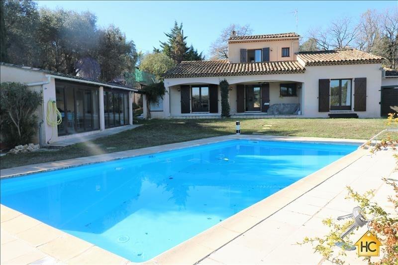 Vente de prestige maison / villa La roquette sur siagne 660000€ - Photo 1