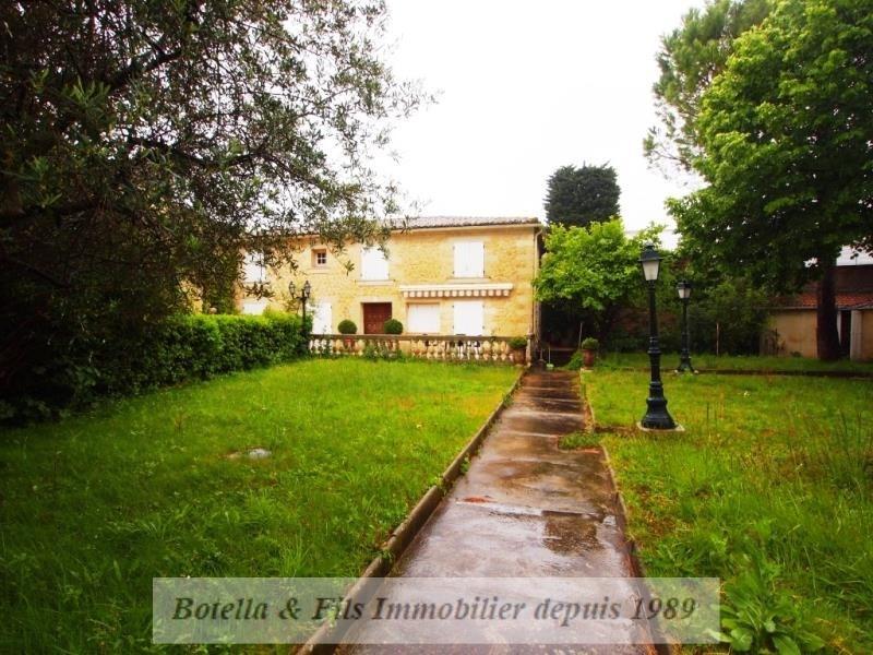 Vente maison / villa Uzes 530000€ - Photo 1