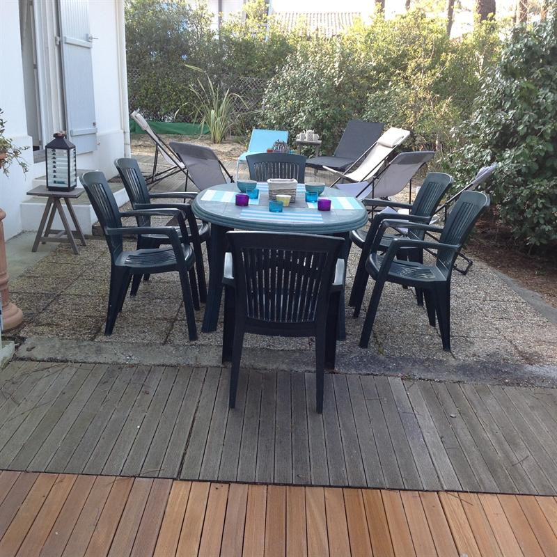 Vacation rental house / villa Capbreton 620€ - Picture 2