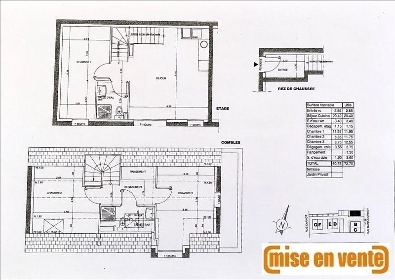 Sale apartment Noisy le grand 334000€ - Picture 1
