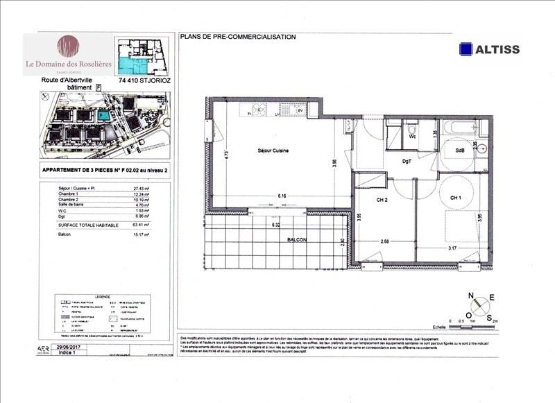 Sale apartment Saint-jorioz 270000€ - Picture 2