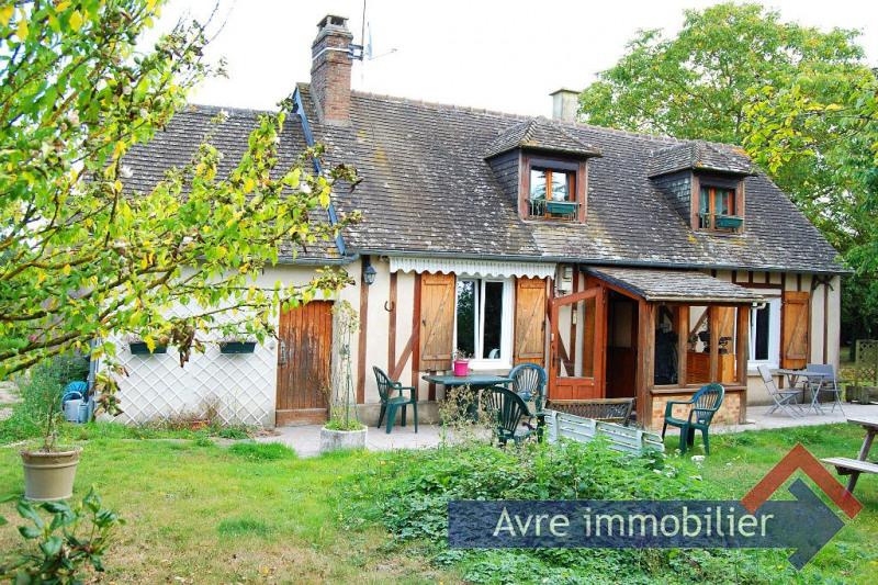 Sale house / villa Verneuil d avre et d iton 124000€ - Picture 1