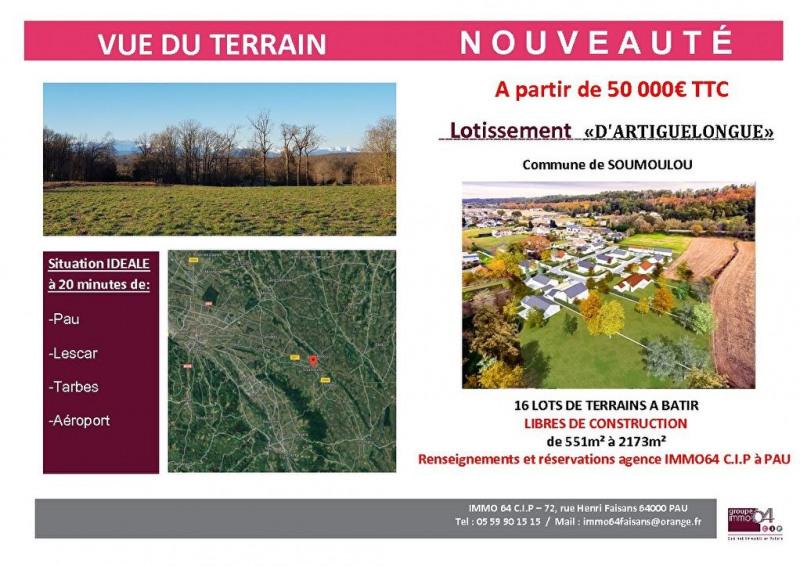 Sale site Soumoulou 59000€ - Picture 1