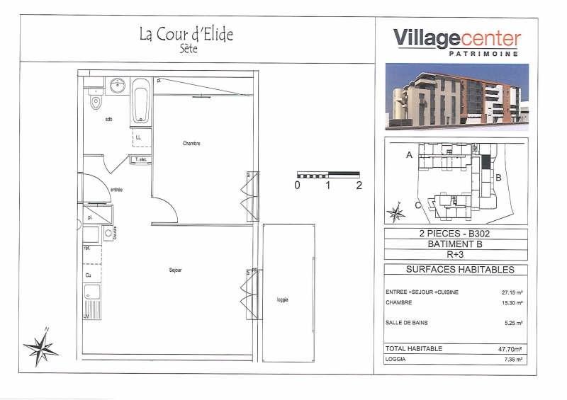 Rental apartment Sete 599€ CC - Picture 2