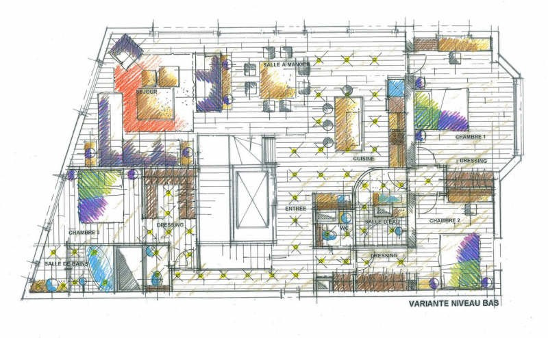 Appt terrasse neuilly sur seine - 5 pièce (s) - 160.26 m²