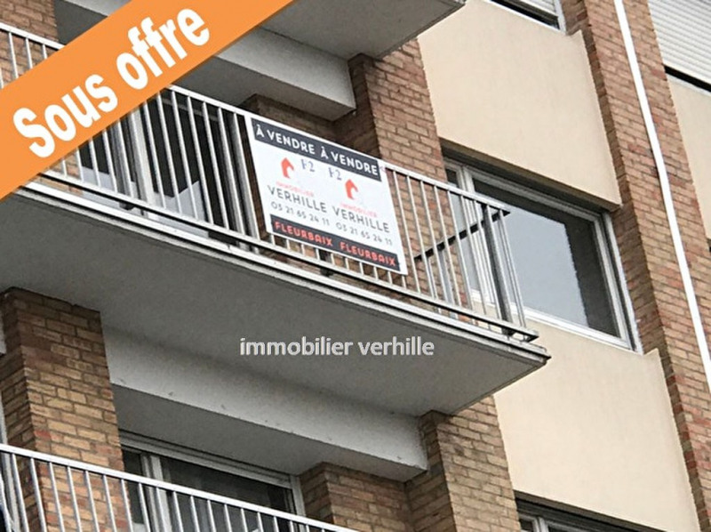Vente appartement Lomme 123000€ - Photo 1