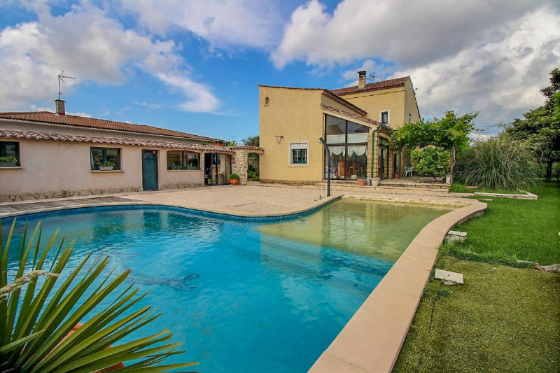 Vente maison / villa Marguerittes 495000€ - Photo 1