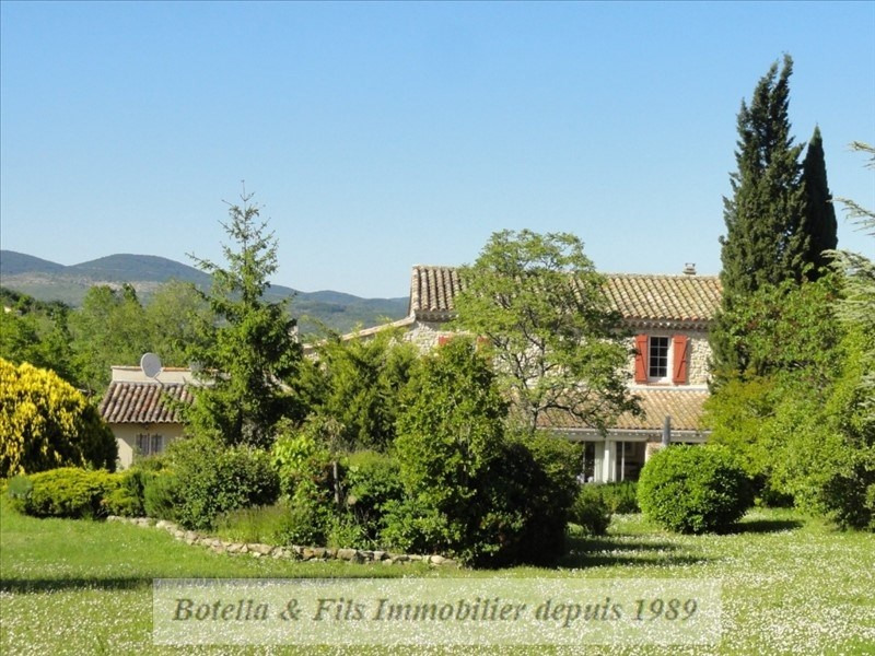 Immobile residenziali di prestigio casa Barjac 572000€ - Fotografia 1