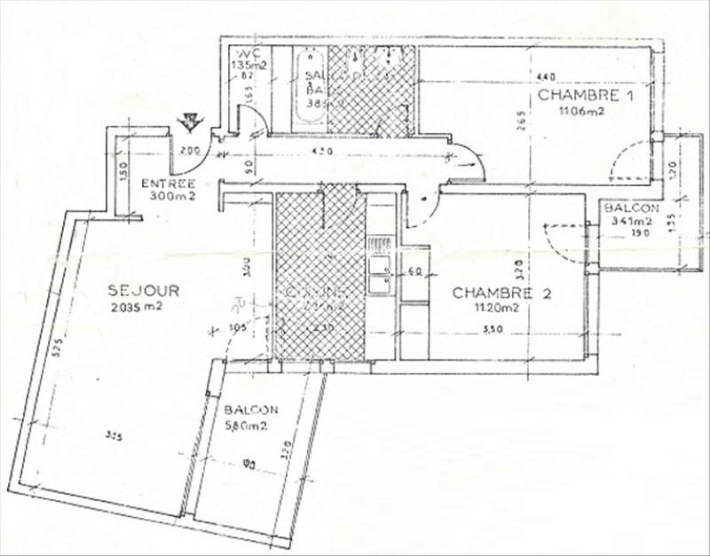 Vente appartement Gif sur yvette 260000€ - Photo 9