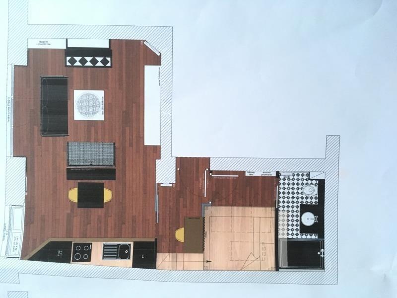 Vente appartement Bordeaux 224000€ - Photo 3