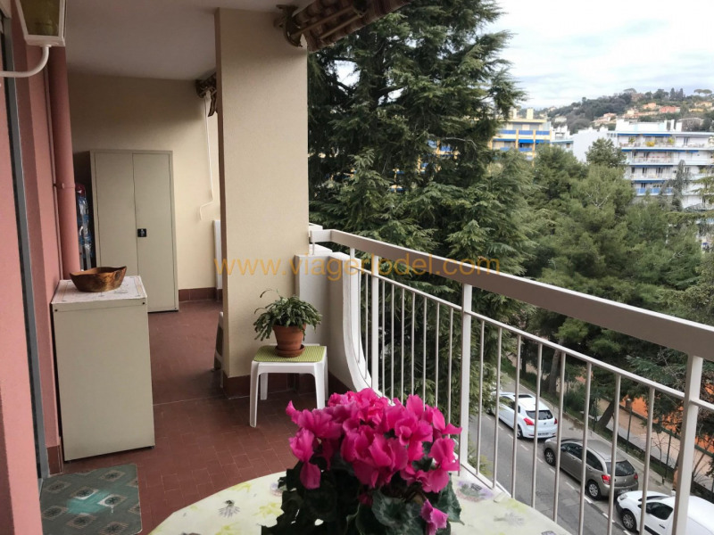 Viager appartement Nice 75000€ - Photo 1