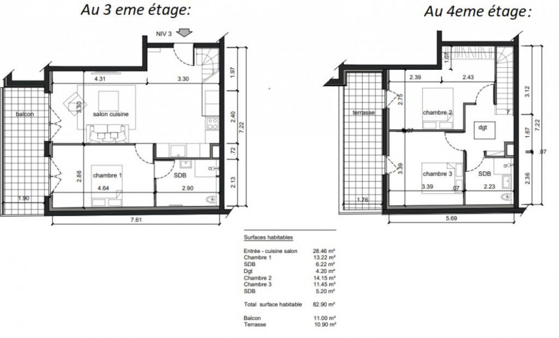 Produit d'investissement appartement Noisy-le-sec 349 000€ - Photo 1