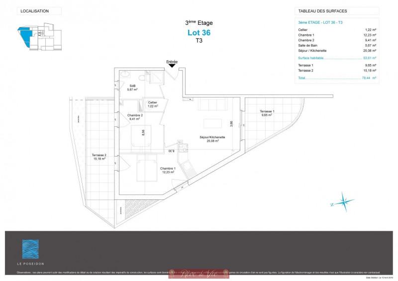 Vente appartement Bormes les mimosas 305000€ - Photo 4